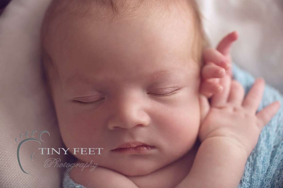 Tiny Feet Photography, newborn baby macro detailed shots of baby face